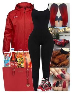 """Untitled #510"" by issaxmonea ❤ liked on Polyvore featuring NIKE and MICHAEL Michael Kors"