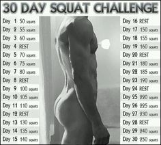 30 day squat challenge http://www.weightlossjumpstars.com/types-of-exercise-to-lose-weight/