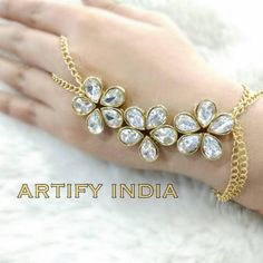 Ring Bracelet, Bangle Bracelets, Bangles, England Italy, London England, Jewelry Accessories, Jewelry Design, Indian Jewelry Sets, Hand Chain