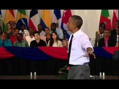 Barrack Obama in Jamaica, answers weed question from Miguel 'Steppa' Wil...