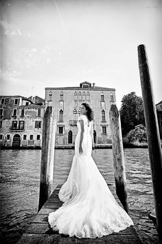 Breathtaking Post Wedding Photography in #Venice by @DavidPostatny Full Post: http://www.brideswithoutborders.com/inspiration/post-wedding-photography-italy-david-postatny
