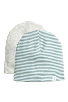 Cuffiette in jersey, 2 pz: CONSCIOUS. Cuffiette in jersey di cotone biologico a doppio strato.