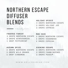 Diffuser Blends using doTERRA's Northern Escape Woodland Blend Coconut Essential Oil, Fall Essential Oils, Essential Oil Diffuser Blends, Doterra Diffuser, Doterra Essential Oils, Diy Beauty Essentials, Diffuser Recipes, Aromatherapy, Au Natural