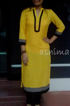 I want this top Salwar Neck Designs, Neckline Designs, Dress Neck Designs, Kurta Designs, Blouse Designs, Trendy Dresses, Simple Dresses, Chic Outfits, Fashion Outfits