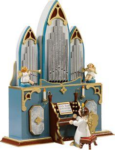 Käthe Wohlfahrt - Online Shop | Organ Player Angel, Music Box | Rothenburg ob der Tauber