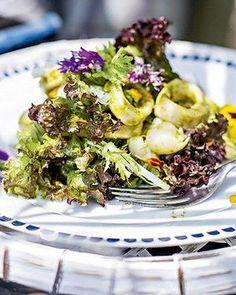 Salada de lula com lichia (Foto: Rogério Voltan/Editora Globo)