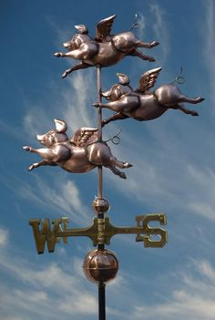Weathervanes When Pigs Fly - Pigasus