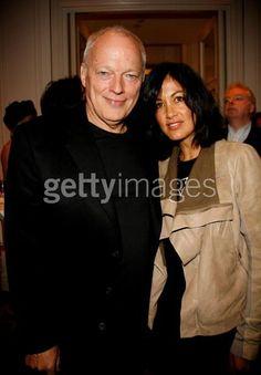 David Gilmour & wife Polly Samson