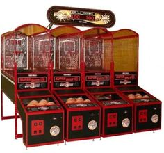 We sell all kind of basketball arcade game machines, an amusement equipment for family fun. The basketball arcade machine must be a thrill experience. People can practise shooting anytime they like! Arcade Game Machines, Arcade Machine, Arcade Games, Arcade Basketball, Basketball Video Games, Skee Ball, Kitty Games, Indoor Games, Workout Machines