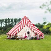 Fireproof 360 gsm Canvas ZIG 4 Metre Bell Tent By Bell Tent Boutique on eBay for £589 | Favorites | Pinterest | Bell tent and Tents & Fireproof 360 gsm Canvas ZIG 4 Metre Bell Tent By Bell Tent ...