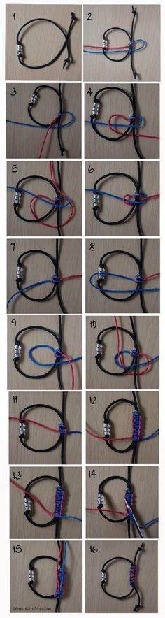 Tutorial – Square Sliding Knot- make several and determine which closure I like best!