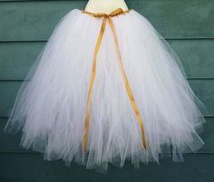 """tulle skirt... actually this is more of a """"do not""""... I don't like this type of tulle skirt! :/"""