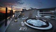 Cerchi un hotel con vasca idromassaggio sul tetto? Scopri questi 5 gioielli e rilassati sotto le stelle con la tua dolce metà.