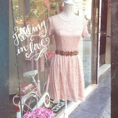 Lace dress so cute by Cuca Boutique
