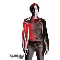 El Puffs. Poster promocional de la 7ma temporada de #TWD con #Maggie