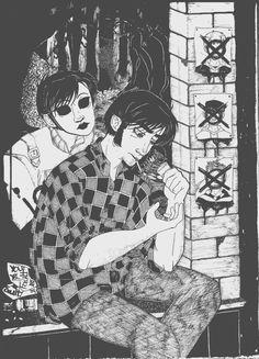 ●●● Tim and Masky.
