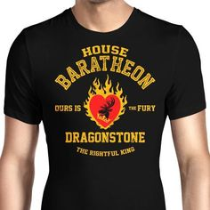 If you were siding with Stannis, remember him with this Barateon men's T-Shirt from Game of Thrones. $21.99