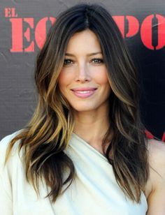 Balayage Hair Coloring Technique | Laguna Niguel Hair Style Tips Balayage Jessica Biel Ombre Design ...