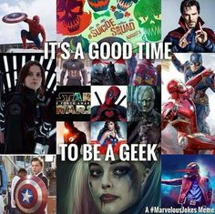 *Nerd but whatever-- nerds are people who are smart and geeks are people who like comics and tv shows obviously you are neither. Do your research!