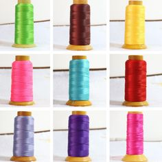 Fashion jewelry making findings accessories 18 color beads nylon silk cord thread line 1.2mm fit necklace bracelets jewelry B862 #Affiliate