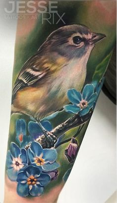 Jesse Rix Tattoos | Jesse Rix - Bird Tattoo