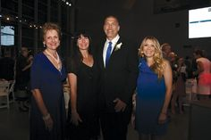 Event Chair Barbara Johnson, Stacy and UNO President John Nicklow and Victoria White
