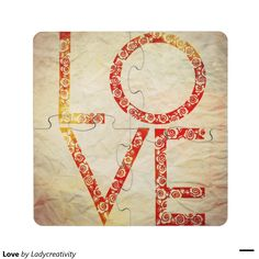 Love Puzzle Coaster
