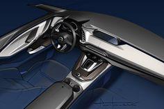 [画像]マツダ、ミッドサイズの新型クロスオーバーSUV「CX-9」を世界初公開 / 「ダイナミック・プレッシャー・ターボ」採用の2.5リッター直噴ガソリンターボ「SKYACTIV-G 2.5T」を初搭載 - Car Watch