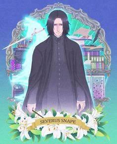 Harry Potter Comics, Harry Potter Severus Snape, Lily Potter, Harry Potter Anime, Harry Potter Fan Art, Harry Potter Characters, Harry Potter Fandom, Professor Severus Snape, Severus Rogue