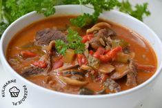 Thai Red Curry, Meat, Ethnic Recipes, Food, Gastronomia, Essen, Meals, Yemek, Eten