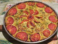 Raccontare un paese: le mie ricette: torta salata con zucchine e riso