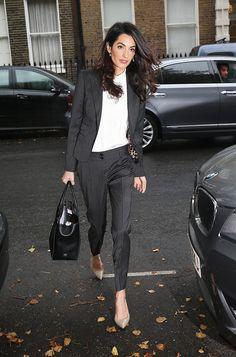 How to Dress Like Amal Clooney in 7 Easy Steps via @WhoWhatWear