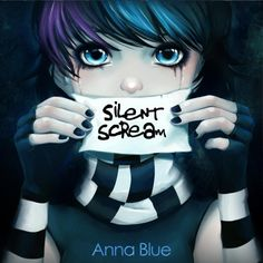 blue emo anime - Google Search