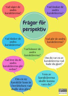 Frågor för perspektiv. Utveckla läsförståelse!