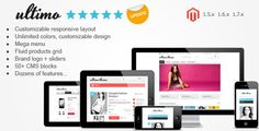 Magento Full responsive template! A very very beatifull themes!