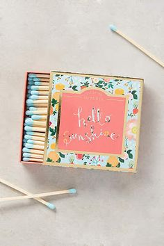 ...matches! I would buy these, just to look at them #anthrofave