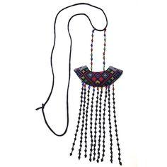 #Swanmarks Liebo New 2012 Cross-stitch Tassel Pendant Necklace