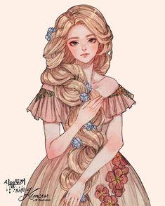 Disney Princess Art, Disney Fan Art, Princess Zelda, Character Inspiration, Character Art, Character Design, Rapunzel, Arte Disney, Anime Angel