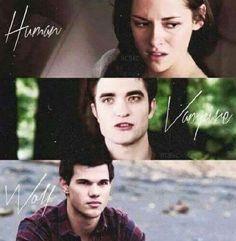 Human-Vampire-Wolf