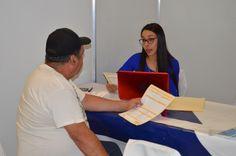 <p>- En la Feria del Empleo participan 32 empresas de la localidad<br /> <br /> Cuauhtémoc, Chih.- La Feria de Empleo, organizada