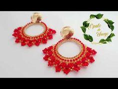 Crochet Earrings, Diy, Jewellery, Youtube, Stud Earrings, Tejidos, Decorations, Tutorials, Jewels