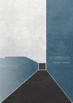 Presentation style. Architecture Portfolio Ricardo Amaral #posterdesign #poster #design #architecture