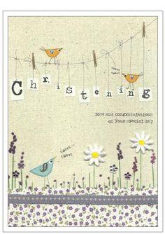Happy Christening Card