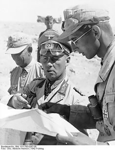 Crazy Like a Fox – 12 Remarkable Facts About Erwin Rommel German Soldiers Ww2, German Army, Afrika Corps, North African Campaign, Erwin Rommel, Field Marshal, German Uniforms, Ww2 Photos, Military History
