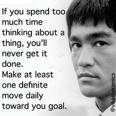 #brucelee Albert Einstein Education, Bruce Lee Quotes, Philosophy Quotes, Life Motto, Mottos, Polymers, Healthy Mind, Getting Things Done, Kung Fu