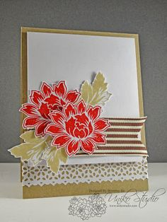Uniko Studio: Back to Reality! - use secret garden Back To Reality, Xmas Cards, Flower Cards, Paper Crafting, Stamping, Card Ideas, Decorative Boxes, Card Making, Therapy
