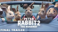 PETER RABBIT 2: THE RUNAWAY - Final Trailer (HD) Best Films To Watch, The Best Films, New Trailers, Movie Trailers, New Movies Coming Soon, Hollywood Trailer, Columbia Pictures, 2 Movie, Family Movies