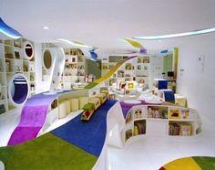 해외 어린이 도서관 인테리어친화적 디자인이 돋보이는 베이징 어린이 도서관  아이들이 읽는 그림책은알록달록하고 대담한 색상으로 표현되는 경우가 많은데요.중국 베이징의 어...