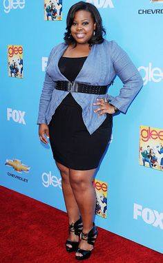 Amber Riley better do the doggone thing! Fab-u-lous outfit honey!