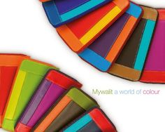 Mywalit - bought one of these while in Barcelona. Such a gorgeous array of colours!